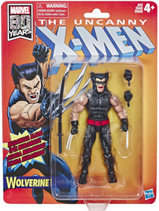 Marvel Legends - X-Men Retro Wolverine Action Figure