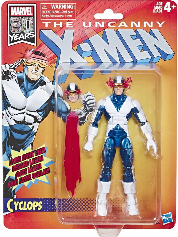 Marvel Legends - X-Men Retro Cyclops Action Figure