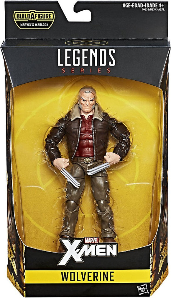Marvel Legends - Wolverine Old Man Logan Action Figure *OPEN BOX