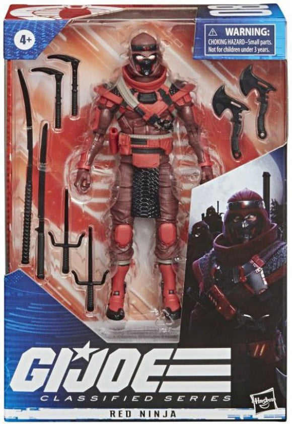 Red Ninja G.I. Joe Classified Series Action Figure