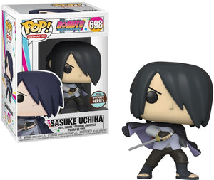 Sasuke (Cape) Funko POP! Animation Boruto Vinyl Figure (Specialty Series) NEW