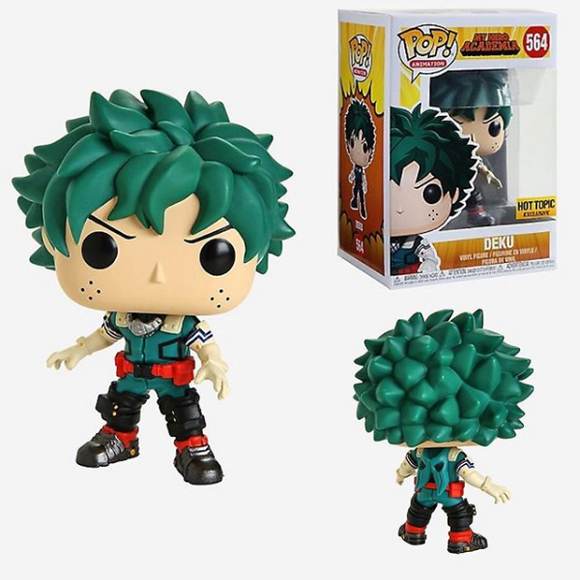 Funko POP! Animation Deku Vinyl Figure (Hot Topic) NEW -  - Funko - The Pop Dungeon