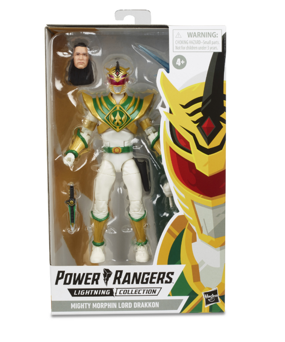 Power Rangers Lightning - Lord Drakkon Action Figure