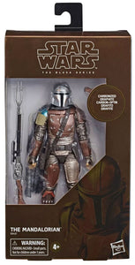 Star Wars: Black Series - The Mandalorian (Carbonized) Action Figure (Target)