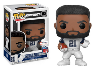Funko POP! Football Ezekiel Elliot Vinyl Figure (Fanatics) NEW -  - Funko - The Pop Dungeon