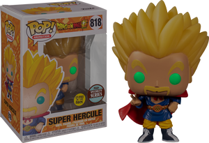 Super Hercule (Glow) Funko POP! Animation Vinyl Figure (Specialty Series) NEW