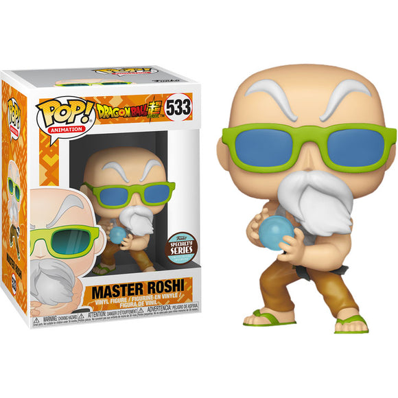 Funko POP! Animation Master Roshi Vinyl Figure (Specialty Series) NEW -  - Funko - The Pop Dungeon