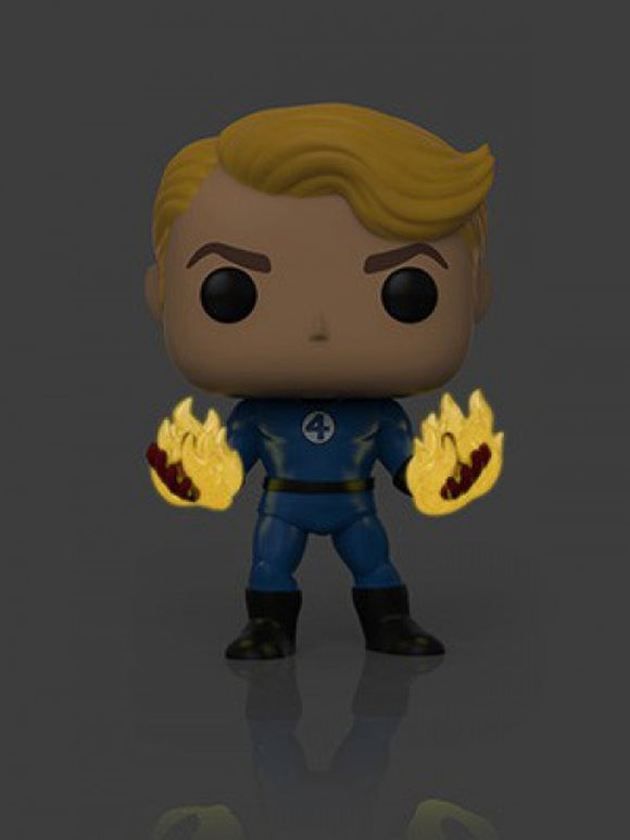 Funko POP! Marvel Human Torch (Suited) Vinyl Figure (Specialty Series) NEW