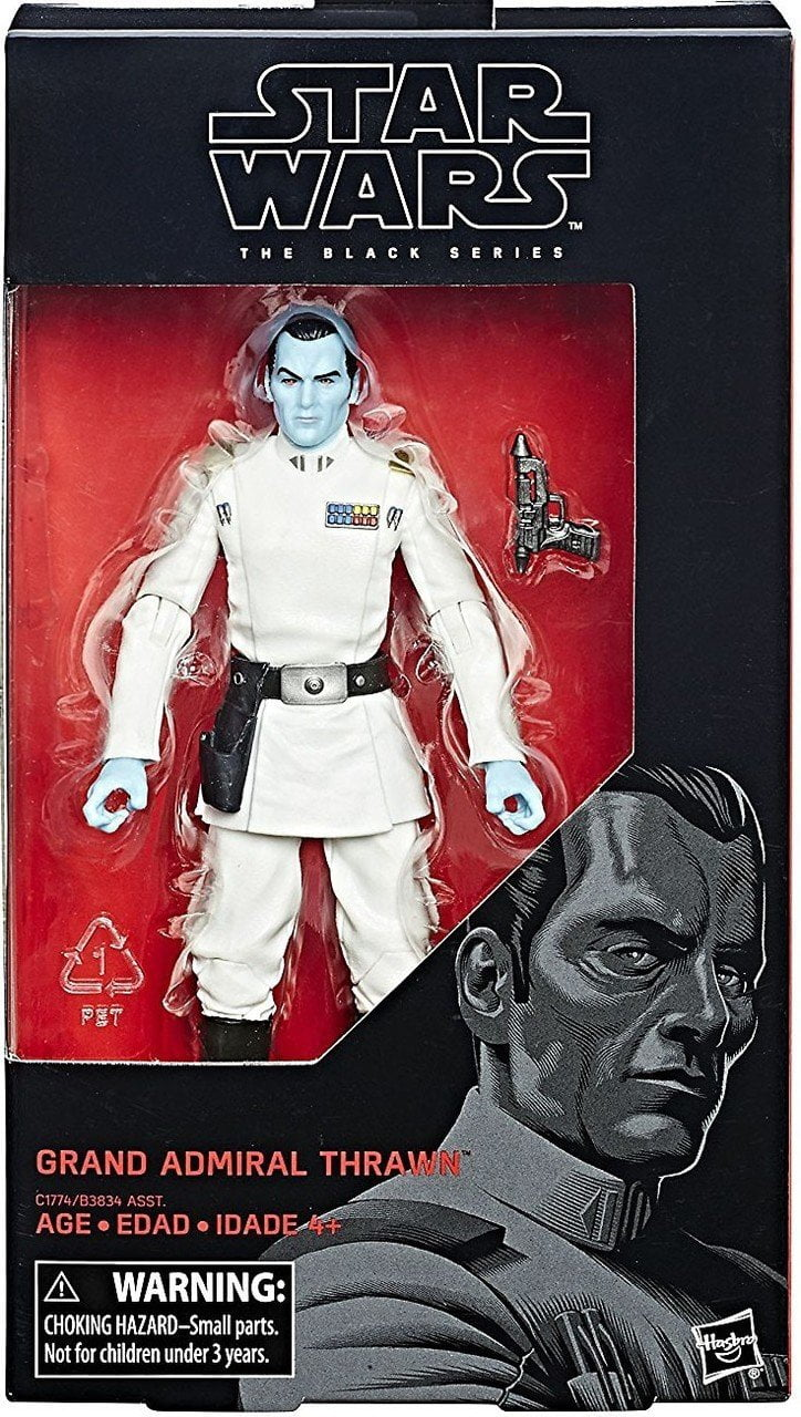 Star Wars: Black Series - Grand Admiral Thrawn Action Figure