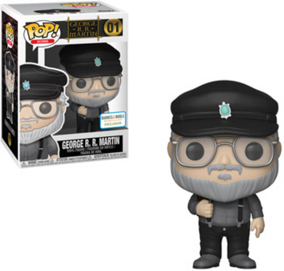 Funko POP! Icons George RR Martin Vinyl Figure (Barnes & Noble) NEW