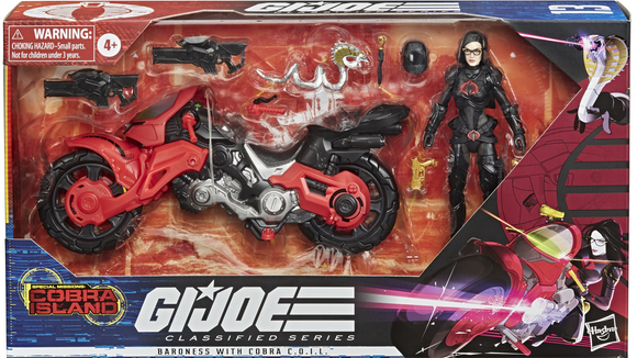 Baroness G.I. Joe Classified Series Action Figure (Target)