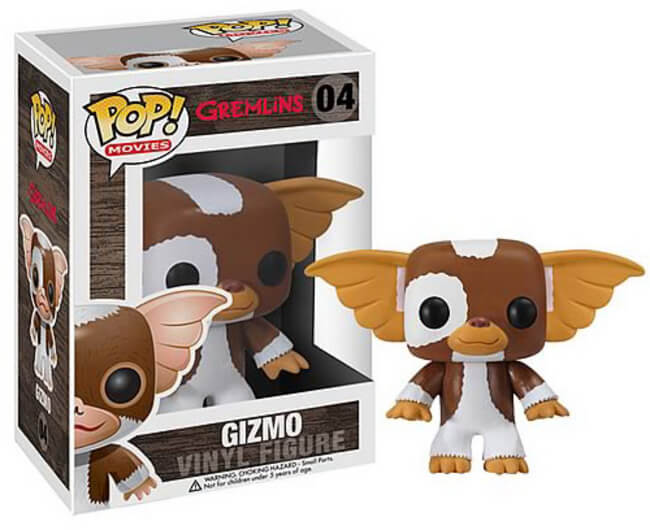 Funko POP! Movies Gizmo Vinyl Figure (Autographed) NEW