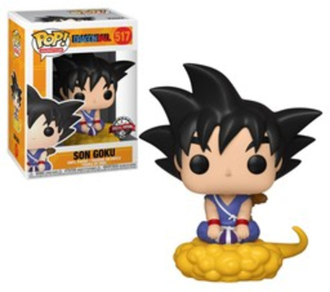 Funko POP! Animation Goku (Son) Vinyl Figure (GameStop) NEW -  - Funko - The Pop Dungeon