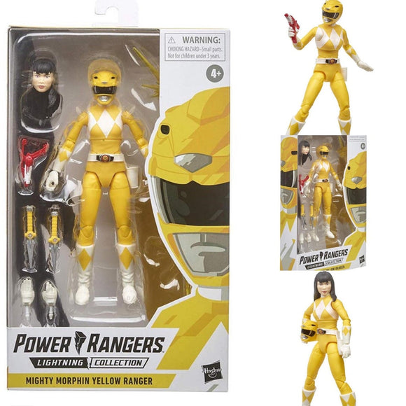 Power Rangers Lightning - Yellow Ranger Action Figure
