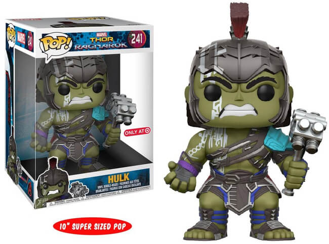 "Funko POP! Marvel Hulk (10"") Vinyl Figure (Target) NEW"