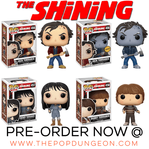 PRE-ORDER - Funko POP! Movies The Shining (4 PACK) Vinyl Figure (CHASE BUNDLE)
