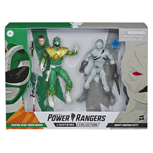 Power Rangers Lightning - Green Ranger vs Putty Patrol Action Figure