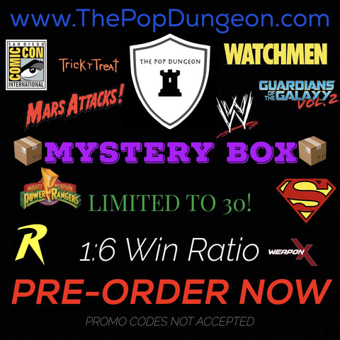 PRE-ORDER - MYSTERY BOX - NEW -  - The Pop Dungeon - The Pop Dungeon