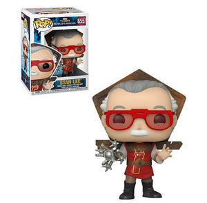 Stan Lee (Ragnarok) Funko POP! Icons Vinyl Figure NEW