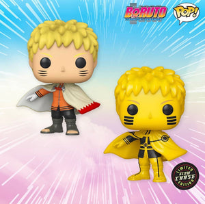 Naruto Hokage (CHASE BUNDLE) Funko POP! Animation Boruto Vinyl Figure (AAA Anime) NEW