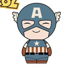 Dorbz Captain America (Sepia) Vinyl Figure (Hot Topic Exclusive) /1500 pcs -  - The Pop Dungeon - The Pop Dungeon