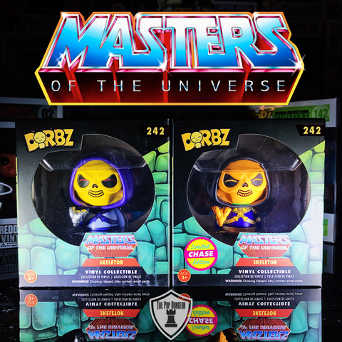 Dorbz MotU Skeletor Vinyl Figure (CHASE BUNDLE) -  - The Pop Dungeon - The Pop Dungeon
