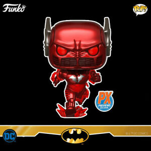Funko POP! Heroes Batman (Metal Red Death) Vinyl Figure (PX Previews) NEW