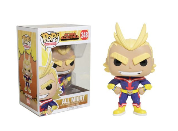 Funko POP! Animation All Might Vinyl Figure NEW -  - Funko - The Pop Dungeon