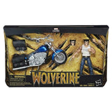 Marvel Legends - Wolverine with Motorcycle Action Figure *OPEN BOX