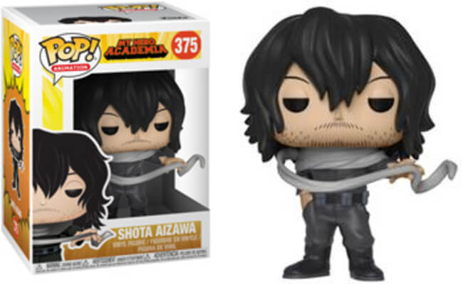 Funko POP! Animation Shota Aizawa Vinyl Figure NEW -  - Funko - The Pop Dungeon