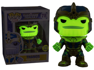 avengers guardians of the galaxy funko glow thanos endgame