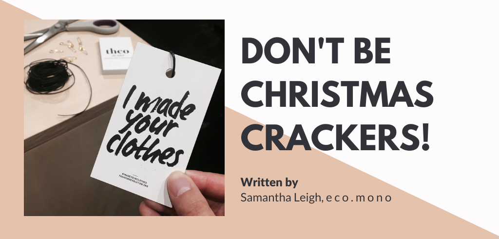 Don't Be Christmas Crackers!