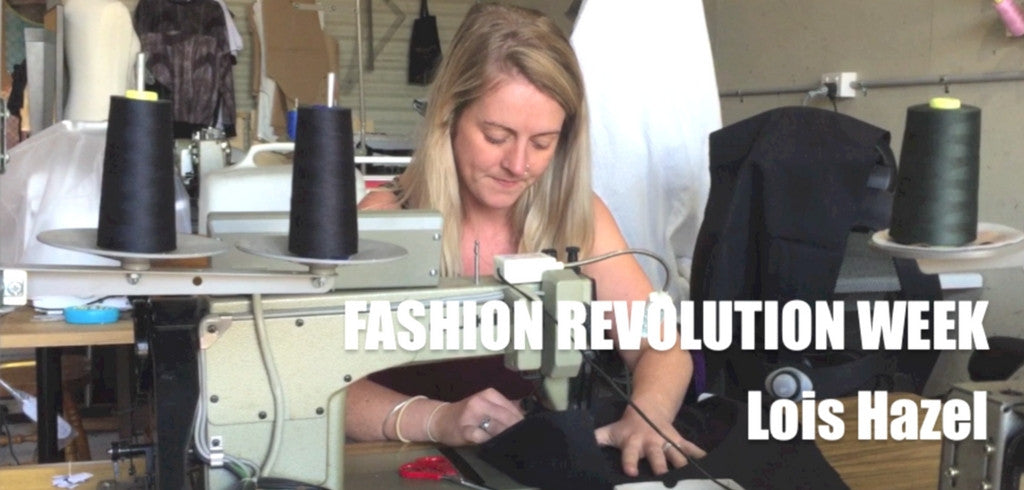Fashion Revolution: Bridging The Gap with Lois Hazel