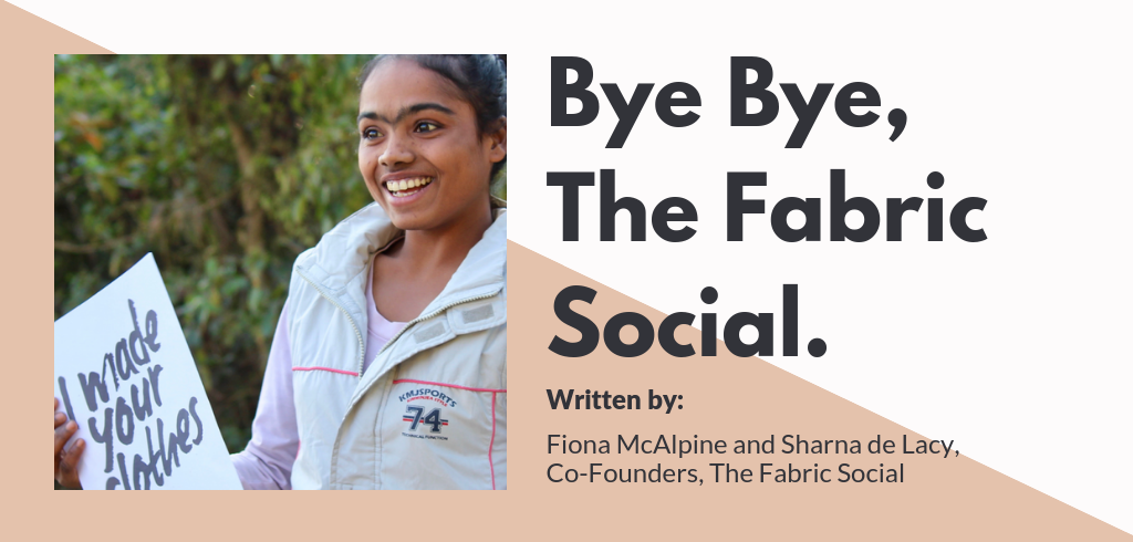 Ethical Fashion Blog | The Fabric Social Are Closing Their Doors | ECOMONO
