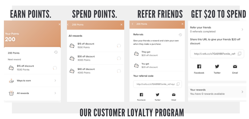 Earn Points | Refer A Friend | Ethical & Sustainable Fashion | ECO.MONO