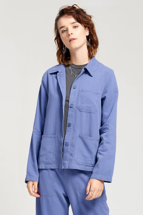 Clare Jacket - French Blue