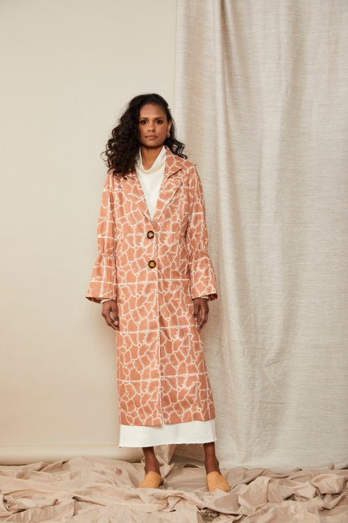 LW Scrunch Trench | Lois Hazel | Made In Australia