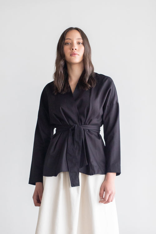 Niche Jacket Black | ReCreate Clothing | Ethical Winter Coats