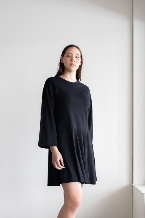 Margin Dress Black | ReCreate Clothing | Ethical Dresses Australia
