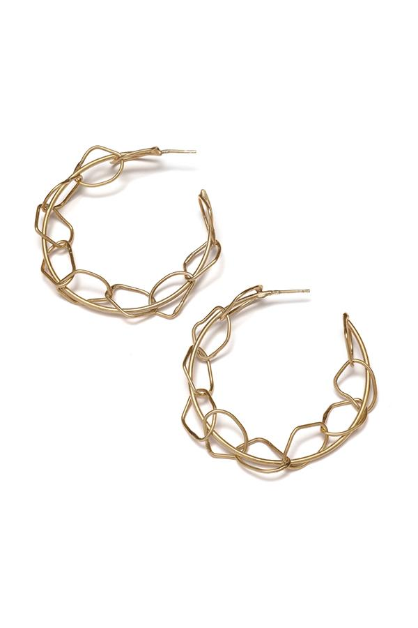 RBCCA KSTR | Chain Hoops | Ethical & Sustainable Jewellery & Accessories | ECO.MONO
