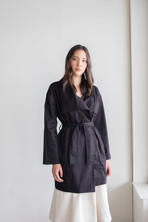 Alliance Coat Black | ReCreate Clothing | Ethical Winter Coat