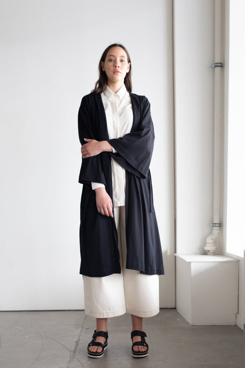 Coast Longline Cardigan Black | ReCreate Clothing | Winter Cardigans