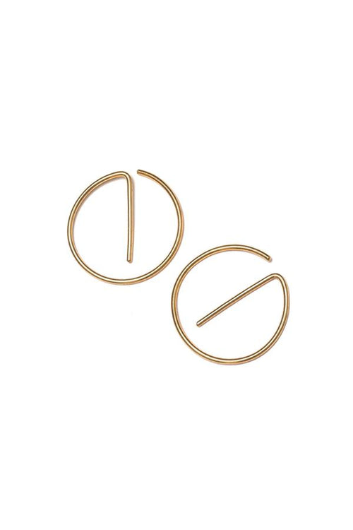 Ear Hooks - Hoop | Ethical & Sustainable Jewellery & Accessories | ECO.MONO