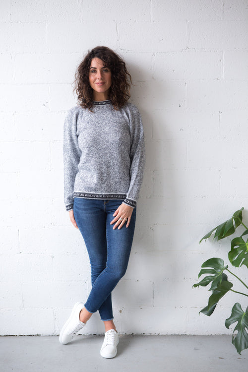 Classic Alpaca Jumper - Inca Borders | Winter Jumpers Australia
