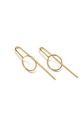 RBCCA KSTR | Ear Hooks Circle | Ethical & Sustainable Jewellery & Accessories | ECO.MONO