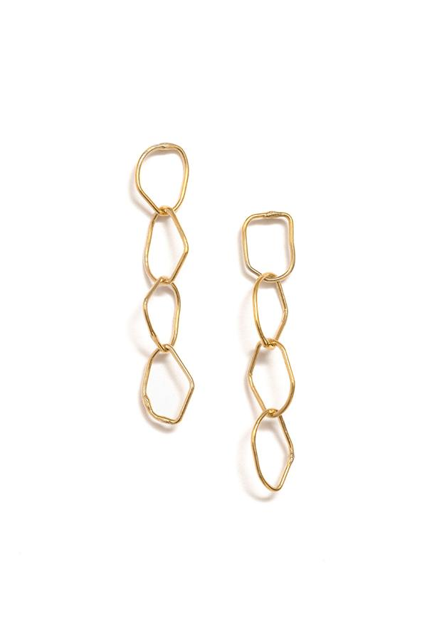RBCCA KSTR | Chain Earrings | Ethical & Sustainable Jewellery & Accessories | ECO.MONO