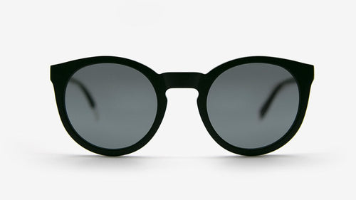 ASHA Recycled Black | Ethical & Sustainable Sunglasses Australia | ECOMONO