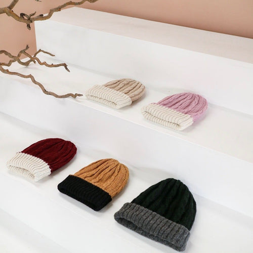 Reversible Alpaca Beanie | Ethically Made Beanie Australia
