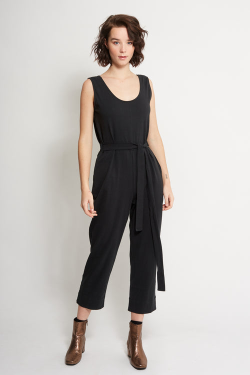 Black Jumpsuit | Ethical & Sustainable Fashion | ECO.MONO | Australia | Melbourne