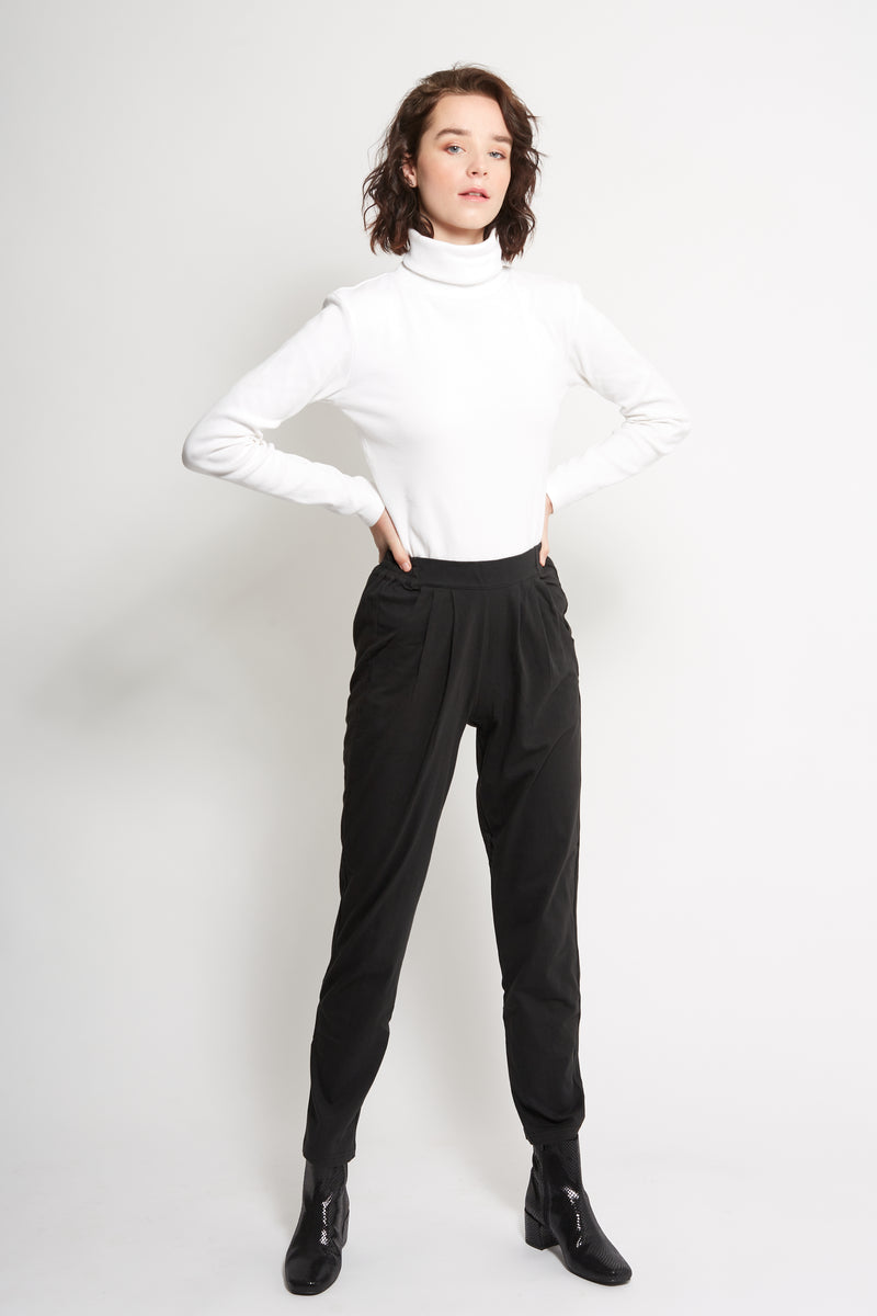 Black Slouch Pant